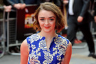 Maisie Williams thinks it would be a great idea to kill off her character in Game of Thrones. Photo / AP