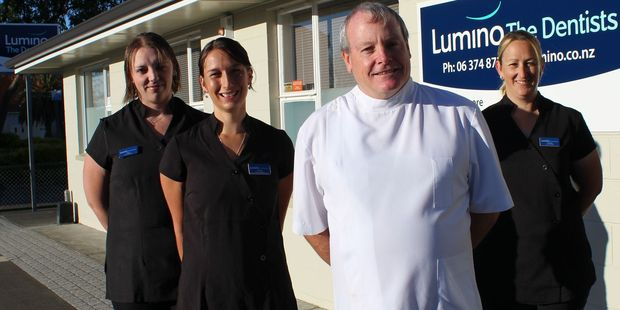 Abano's Lumino The Dentists chain in New Zealand increased same-store sales 3 per cent for the nine months ended February 29. Photo / Christine McKay