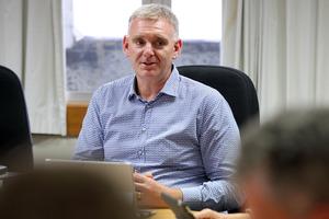 Wayne Jack, CEO, Napier City Council. Photo / Duncan Brown