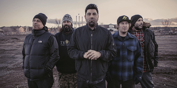 The Deftones have tentatively scheduled NZ into any future tour planning. Photo / Supplied