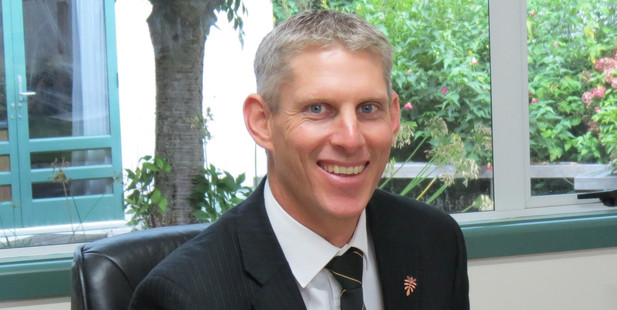 Michael Leitch, the new principal of Karamu High School.
