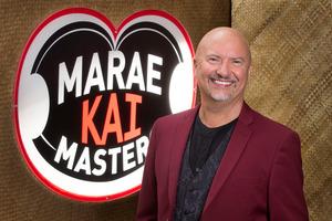 Robert Oliver, host of Marae Kai Masters.
