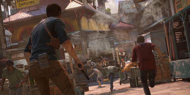 A scene from Uncharted 4: A Thief's End, due for release on Playstation 4 in June.
