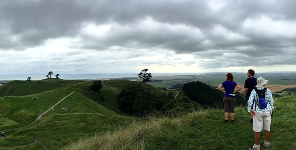 The panoramic views from the summit of the Papamoa Hills are breath-taking. Photos/Rosie Dawson-Hewes
