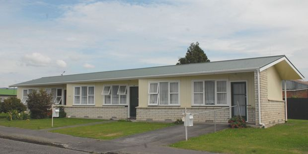 Three council-owned flats in Eketahuna may be owned by a social housing provider in the future. PHOTO/EMILY NORMAN