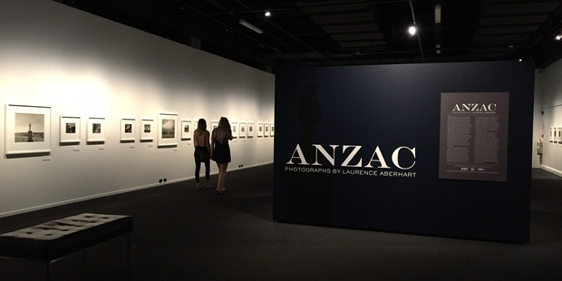 EXHIBIT: Inset, Masterton is included in an exhibition featuring WWI memorials honouring fallen Anzac soldiers, photographed by Laurence Aberhart.