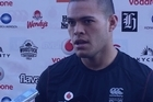 Warriors winger Tui Lolohea wants to keep the ripped jersey he wore in Sunday's thrilling win over the Roosters.