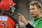 The pair's famous grudge erupted again in the final of the World Twenty20 when Samuels chose to use his post-match media interviews as an opportunity to attack Warne.