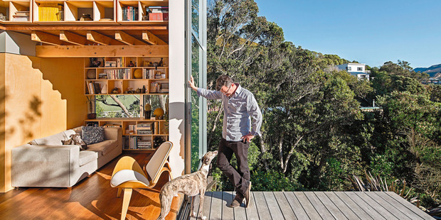 The small 50 sq home that Andrew Simpson and Krysty Peebles live in.