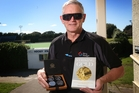 MIFFED: A set of commemorative coins and a fistful of memories, many recounted in a new book, Striking Gold, are what Whanganui's Les Wilson has left of his time with the New Zealand hockey team at the 1976 Montreal Olympics. PHOTO/BEVAN CONLEY
