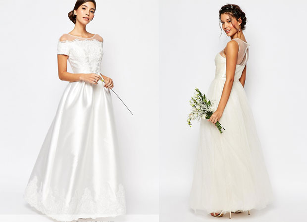 Bridal dresses from ASOS. Photo / ASOS