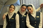 Some airlines require stewardesses to wear headscarves. Photo / Supplied