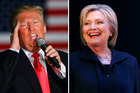 The political futures of Trump and Clinton are looking very different at the moment