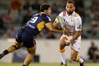 Aaron Cruden's footwork helped the Chiefs to a big win over the Brumbies. Photo / Getty