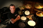DRUM SOLO: AC/DC rocker Phil Rudd has been named one of the world's greatest drummers of all time, and still enjoys playing a few solos in his Matua home.PHOTO/JOHN BORREN