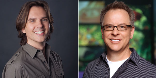 Zootopia's directors Byron Howard and Rich Moore. Photo / Disney