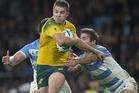 Argentina will 'host' Australia at Twickenham. Photo / Brett Phibbs