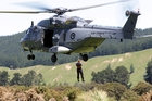 An RNZAF NH90 helicopter was brought in to lift a vehicle out of the Mohaka River near Raupunga, Northern Hawke's Bay, after it plunged off the State Highway 2 Mohaka Viaduct underpass, killing three men, five months ago. A fourth man survived.