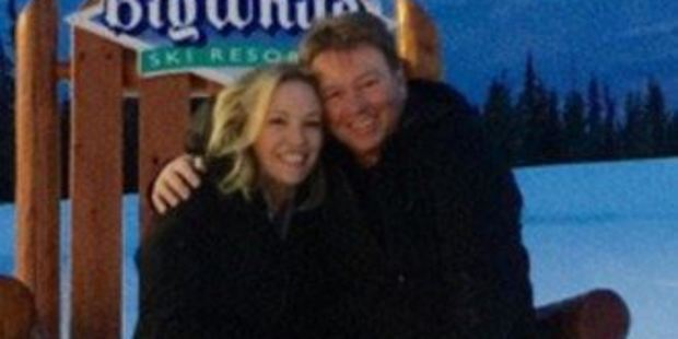 Rebecca Gibney said her husband can be quite scary if anyone messes with his family. Photo: Rebecca Gibney/Instagram