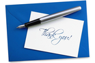 One of the reasons thank you cards have such a positive impact is that it is very rare in business today. Photo / iStock