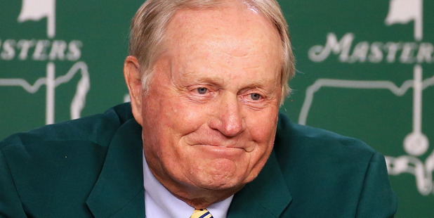 Loading Six times Masters champion Jack Nicklaus speaks to the media at Augusta. Photo / Getty