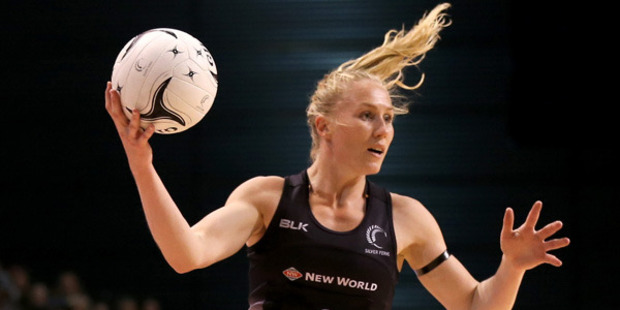 Laura Langman is the first Kiwi netballer to play for an Australian side. Photo / Getty Images