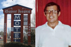 Gerald Foos, who owned the Manor House Motel. Photos / Supplied and DPTV
