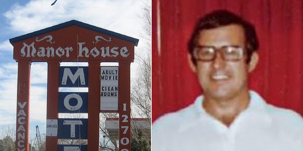 Loading Gerald Foos, who owned the Manor House Motel. Photos / Supplied and DPTV