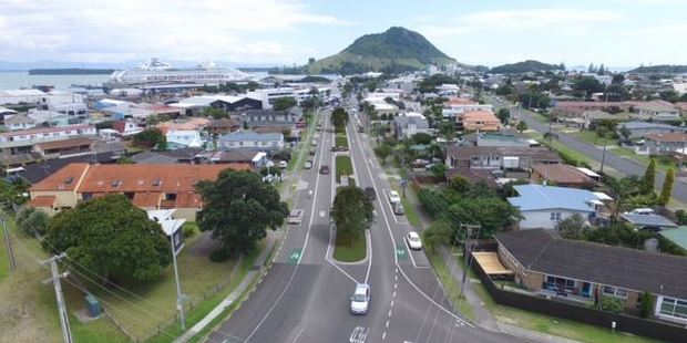 What Maunganui Rd could look like with trees. Images/supplied