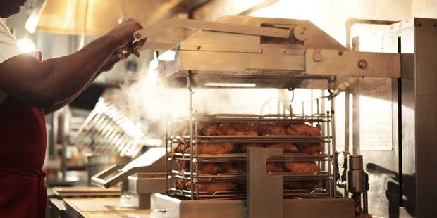 Part of KFC's secret reciepe - a pressure fryer. Photo / Yum! Brands