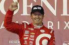 Scott Dixon celebrates winning the IndyCar Phoenix Grand Prix. Photo / AP