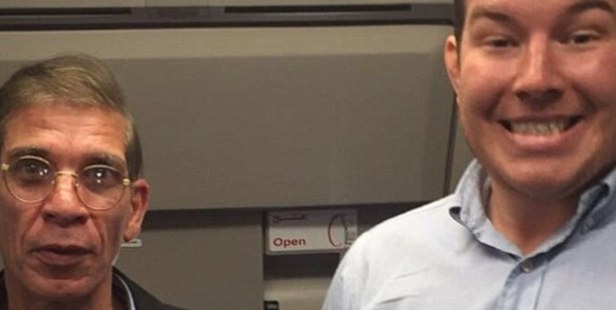 Ben Innes's 'selfie' with his own hijacker stunned many when it became public.