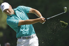 Jordan Spieth is the clubhouse leader at Augusta for the fifth straight time. Photo / AP