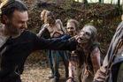 A scene from the season finale of The Walking Dead. Photo / AMC