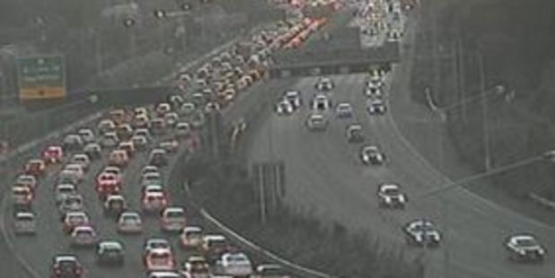 A truck breakdown has added to the headache with traffic delays as a result. Photo / NZTA