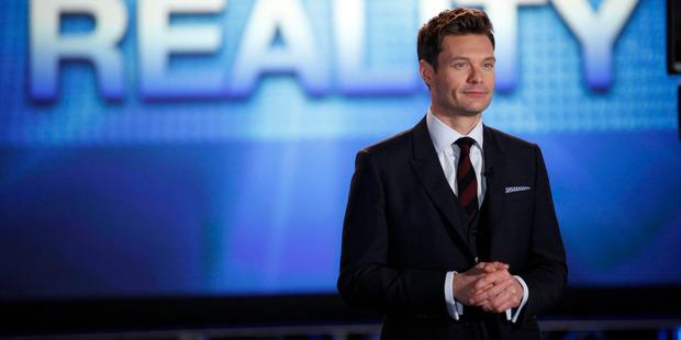 American Idol host Ryan Seacrest. Photo / Beth Dubber, Fox