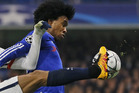 Chelsea's Willian. Photo / AP