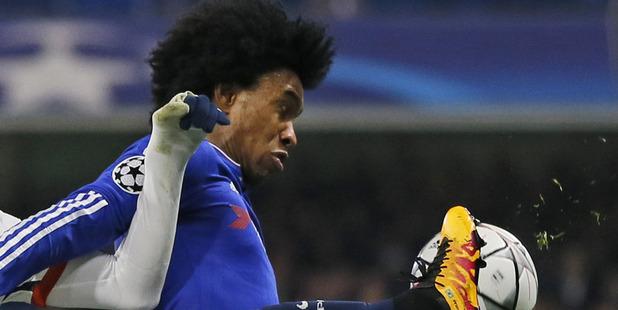 Chelsea's Willian. Photo / AP