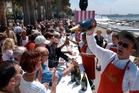 Prices and spirits are high in Cannes when the big players hit town. Photo / AP