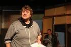 REP REGULAR: Chris McKenzie loves the stage. PICTURE / REUBEN JANES