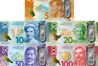 Example of the new banknotes. Photo / Supplied