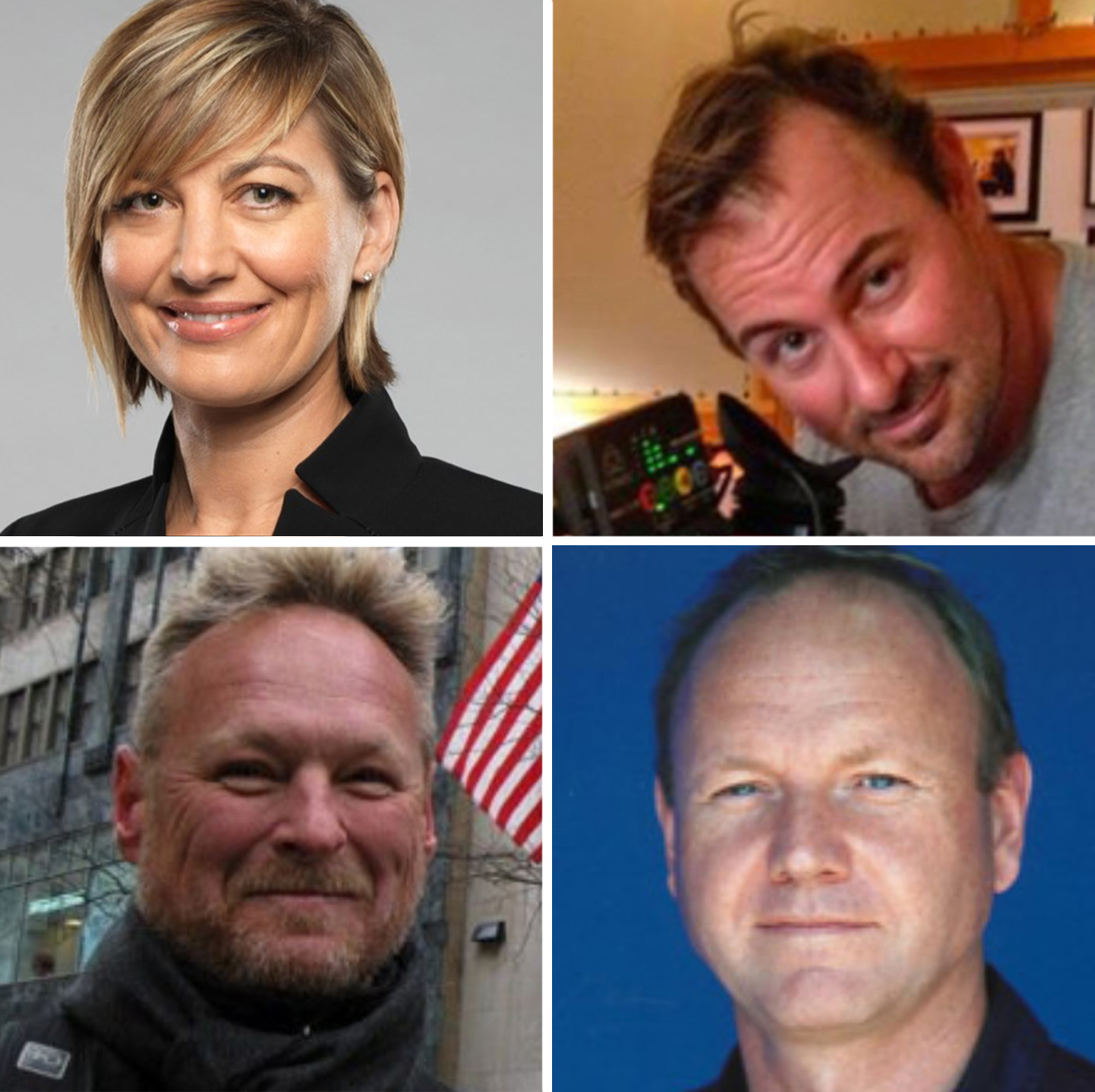 Clockwise from top left: Tara Brown, Ben Williamson, Stephen Rice and David Ballment.