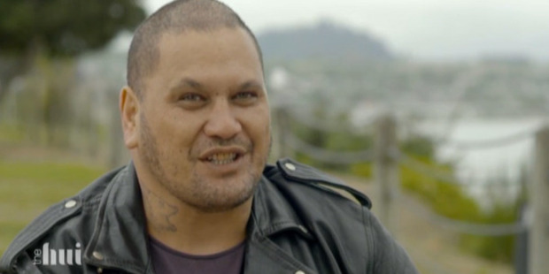 A scene from the new current affairs TV show, The Hui.