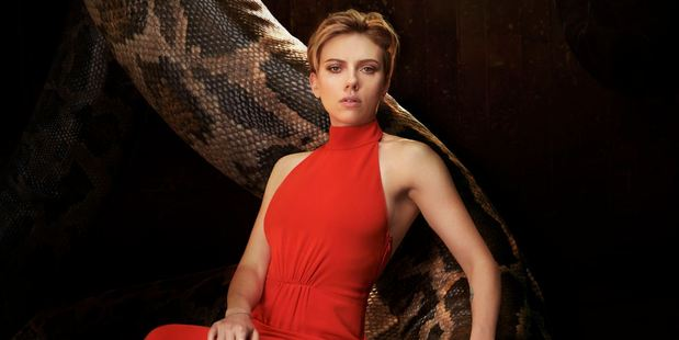 Scarlett Johansson is the voice of Kaa the snake.