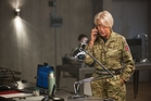 Helen Mirren plays British Army Colonel Katherine Powell in Eye in the Sky.