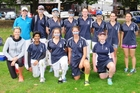 The successful Tauranga Girls' College cricket team. Rebecca Richard (back left), Meila Eades, Taylah Stack, Georgia Bartlam, Brooke Taylor, Ella Steenson, Shay Little, Paris Robertson; Anna Larsen-Leach (coach/manager, front left), Nensi Patel, Briana Perry, Holly Topp and Christina Gatensby-Hansen.