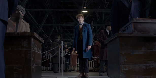 A scene from Fantastic Beasts and Where to Find Them.