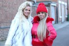 Kayla and Georgina say they're addicted to getting plastic surgery. Photo / Channel Five