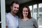 Mike and Gemma have found most West Auckland properties are out of their price range. Photo / Dean Purcell
