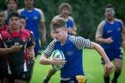 Tauranga Sports Development player Chris Davies in action.